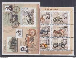 O42. Comoros - MNH - Transport - Motorbikes - Motorbikes