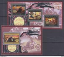 P42. Guinea - MNH - Transport - Motorbikes - 2012 - Motorbikes