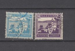 Yvert 77 / 78 Oblitérés - Palestina