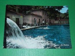Cartolina Equi Terme - La Piscina 1970 - Massa