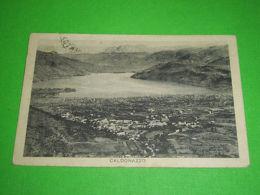 Cartolina Caldonazzo - Veduta Generale 1929 - Trento