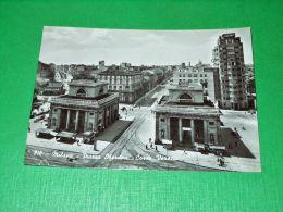Cartolina Milano - Piazza Oberdan - Corso Venezia 1955 - Milano