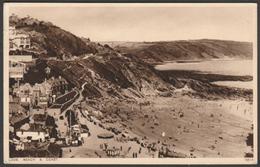 Beach And Coast, Looe, Cornwall, 1936 - Photochrom Postcard - Other