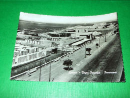 Cartolina Livorno - Bagni Pancaldi - Panorama 1954 - Livorno