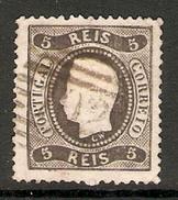 001257 Portugal 1867 Luiz 5 Reis FU - 1862-1884 : D.Luiz I
