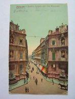 Cartolina Palermo - Quattro Cantoni E Via Macqueda 1914 - Palermo