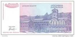YUGOSLAVIA P. 130 50000 D 1993 UNC - Joegoslavië