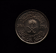 ARABIA SAUDITA 100 HALALA RIYAL 1978 FAO - Arabia Saudita