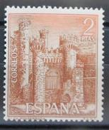 ESPAGNE - YT 1471 - Château De Ponferrada (1967) 2 PTAS NEUF ** - 1961-70 Unused Stamps