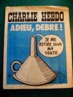 Charlie Hebdo N°125 1973 - Bon état - Adieu, Debré! - 1950 - Nu