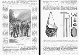 LES EXCURSIONS GEOLOGIQUES PUBLIQUES    1881 - Minéraux & Fossiles