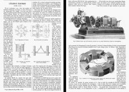 L'ECLAIRAGE ELECTRIQUE Systéme BRUSH   1881 - Non Classificati