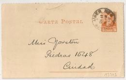 BUESNOS AIRE ARGENTINA CARTA POSTAL 1896. - Briefe U. Dokumente