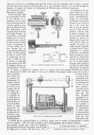 LES BALANCES SANS POIDS Nouvelle BASCULE DE PESAGE à CONTROLE    1881 - Scienze & Tecnica