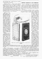 MONTRE SOLAIRE De M. DE COMBETTES  1881 - Montres Anciennes