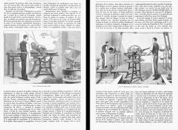 FABRICATION DES PASTILLES , PILLULES Et DRAGEES PHARMACEUTIQUES   1881 - Santé