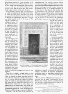 CURIEUX EXEMPLE DE FLEXIBILITE DE PLAQUES  DE  MARBRE    1881 - Minéraux & Fossiles