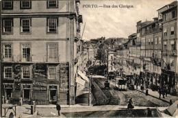 PORTO RUA DOS CLERIGOS ,TRAMWAY ,BEAU PLAN ANIME REF 52837 - Porto