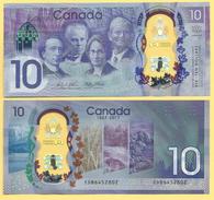 Canada 10 Dollars P-new 2017 UNC - Canada