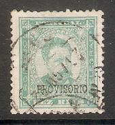 001267 Portugal 1892 Carlos 10 Reis FU - 1892-1898 : D.Carlos I