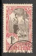 004699 Indo China 1907 1 Franc FU - Used Stamps