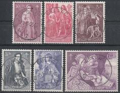 1307/1312 Belgische Schilders/Célèbres De Peintres Belges Oblit/gestp Centrale - Belgique