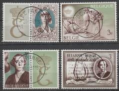 1363/1366 Koningin Elisabeth Oblit/gestp Centrale - Belgique