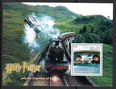 Trein, Train, Eisenbahn Railway: Tadjikistan 2002 ; Harry Potter And The Chamber Of Secrets - Treinen