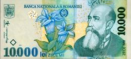 ROUMANIE 10000 LEI 1999 (2001) P-108a NEUF PRÉFIXE 01 [RO108a] - Romania