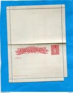 CHILI-Postal Stationery-carte Lettre Entier Postal-neuf**5c  Rouge -Colon-para Corcular Dentro Pais-années 1895-00 - Chile