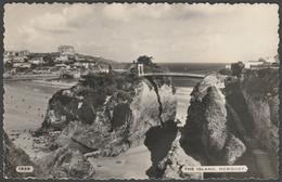The Island, Newquay, Cornwall, 1961 - Dearden & Wade RP Postcard - Newquay