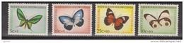 Nederlands Nieuw Guinea Dutch New Guinea 63 - 66 MNH ; Vlinders 1960 NOW ALL STAMPS OF NETHERLANDS NEW GUINEA - Nouvelle Guinée Néerlandaise