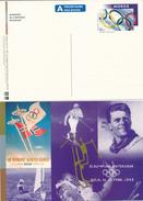 NORWEGEN - NORGE -  27.11.1997  ,  10 Picture Postcards  Olympiade Lillehammer - Big Letter, Dispatch = 4,20 € - Ganzsachen