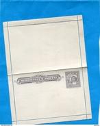 "CHILI-Postal Stationery-carte Lettre Entier Postal-neuf**5c  Gris -Colon-MEMORADUM POSTAL"" -années 1895-00 - Chile"