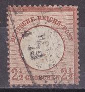 Mll_ Deutsches Reich - Mi.Nr. 21 - Gestempelt Used - Gebraucht