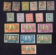 NOUVELLE CALEDONIE  - TIMBRES-POSTE - Stamps Lot X 26 - Océanie (Établissement De L') (1892-1958)
