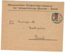 Suisse // Schweiz // Switzerland // Pro-Juventute  // Lettre Au Départ De Zurich Pour Zurich - Lettres & Documents