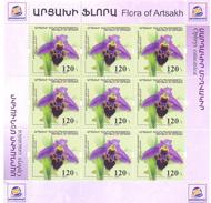 2017.Mountainous Karabakh, Flora, Orchid Of Artsakh, Sheetlet, Mint/** - Armenia
