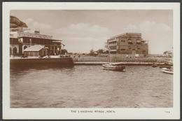 The Landing Stage, Aden, Yemen, C.1920s - Lehem & Co RP Postcard - Yemen