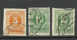 Estland Estonia 1919 Michel 6 - 8 O - Estland