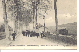 Conliège / Arrivée Du Tramway Lons Le Saunier / St Claude - Altri Comuni