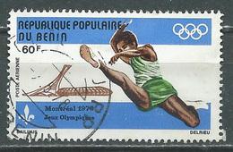 Bénin Poste Aérienne YT N°251 Jeux Olympiques De Montréal 1976 Saut En Longueur Oblitéré ° - Bénin – Dahomey (1960-...)