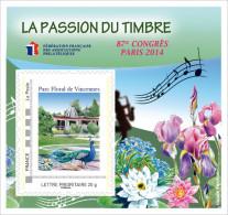 "#           ¤¤   Yvert FFAP N°  9 - ""87ème Congrès PARIS 2014"" - Neuf**  Luxe ¤¤ - FFAP"