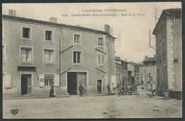 63 ST REMY SUR DUROLLE ( PUY- DE- DÔME )  ANIMEE.ATTELAGE DE BOEUFS...RUE DE LA POSTE..C2255 - France