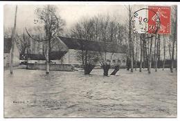 HERME - La Ferme De La Motte Bonnot Dans L'eau - Inondation De Janvier Et Février 1910 - Zonder Classificatie