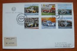 Letter - Cover - Sobre De Paraguay - Autos - Paraguay