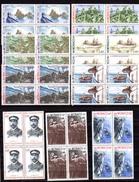 1977   Bateaux Et Navigateurs De MONACO, Yv.  1084 / 1092**en Carrés,  Cote 64 €,  Superbes Gravures - Monaco