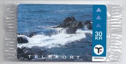 Faroe - Faroese Telecom (Magnetic) - Reef - 30Kr. - 15.000ex, NSB - Faroe Islands
