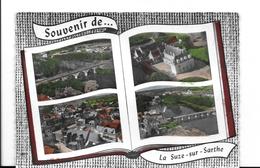 72  LA SUZE SUR SARTHE MULTIVUES      BON ETAT     2 SCANS - La Suze Sur Sarthe