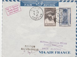 France Lettre Aviation 1947 - 1921-1960: Modern Period